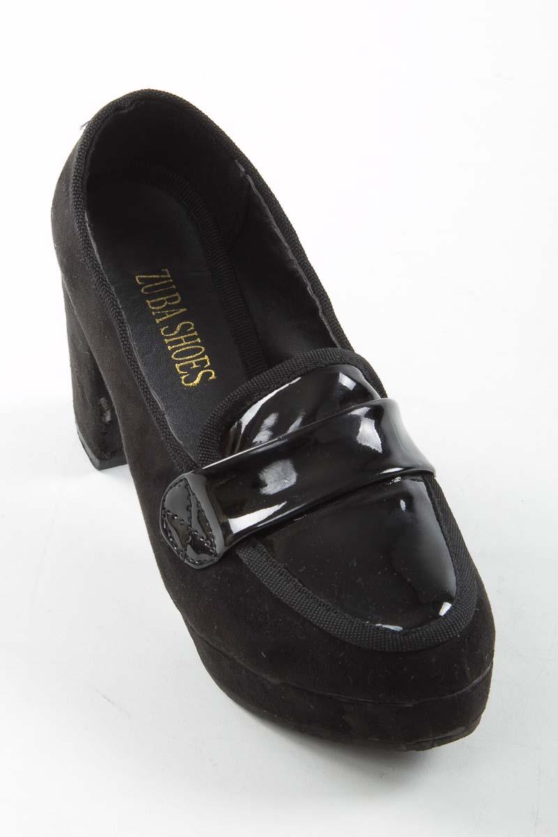 Zapatos Tacón color Negro - ZUBA SHOES