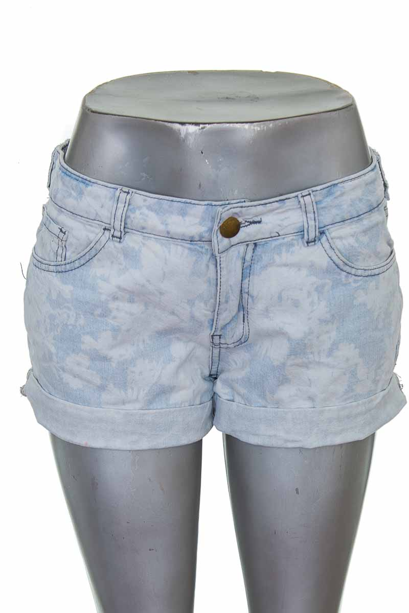 Short Jean color Azul - Yessica