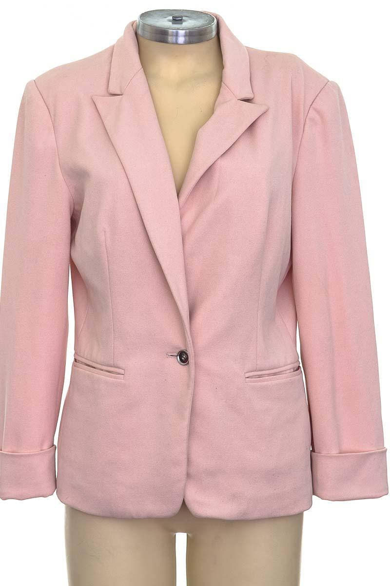 Chaqueta / Abrigo color Rosado - ELA