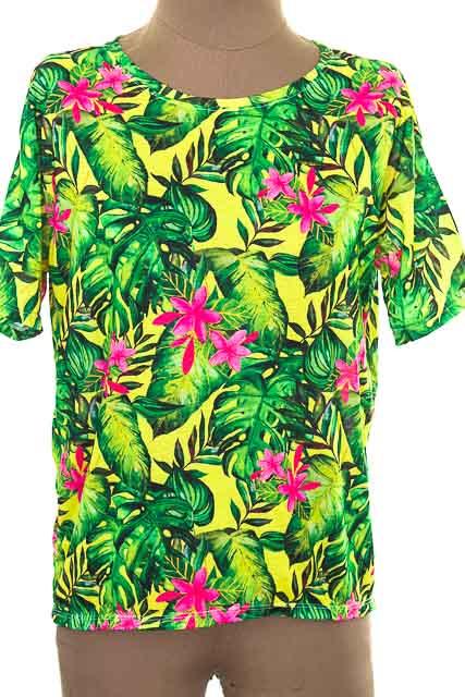 Top / Camiseta color Verde - Loguin