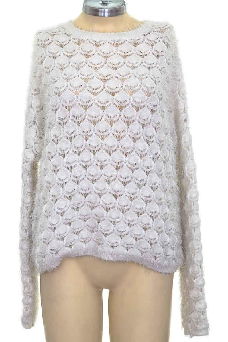 Sweater color Blanco - Bershka