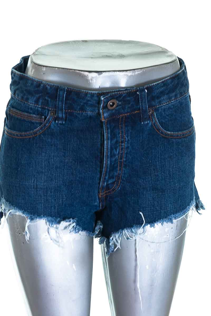 Short Jean color Azul - Free People