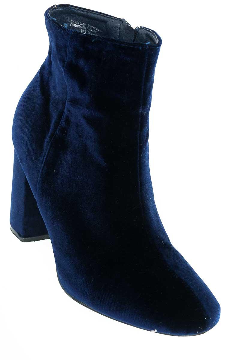 Zapatos Bota color Azul - Punto Blanco