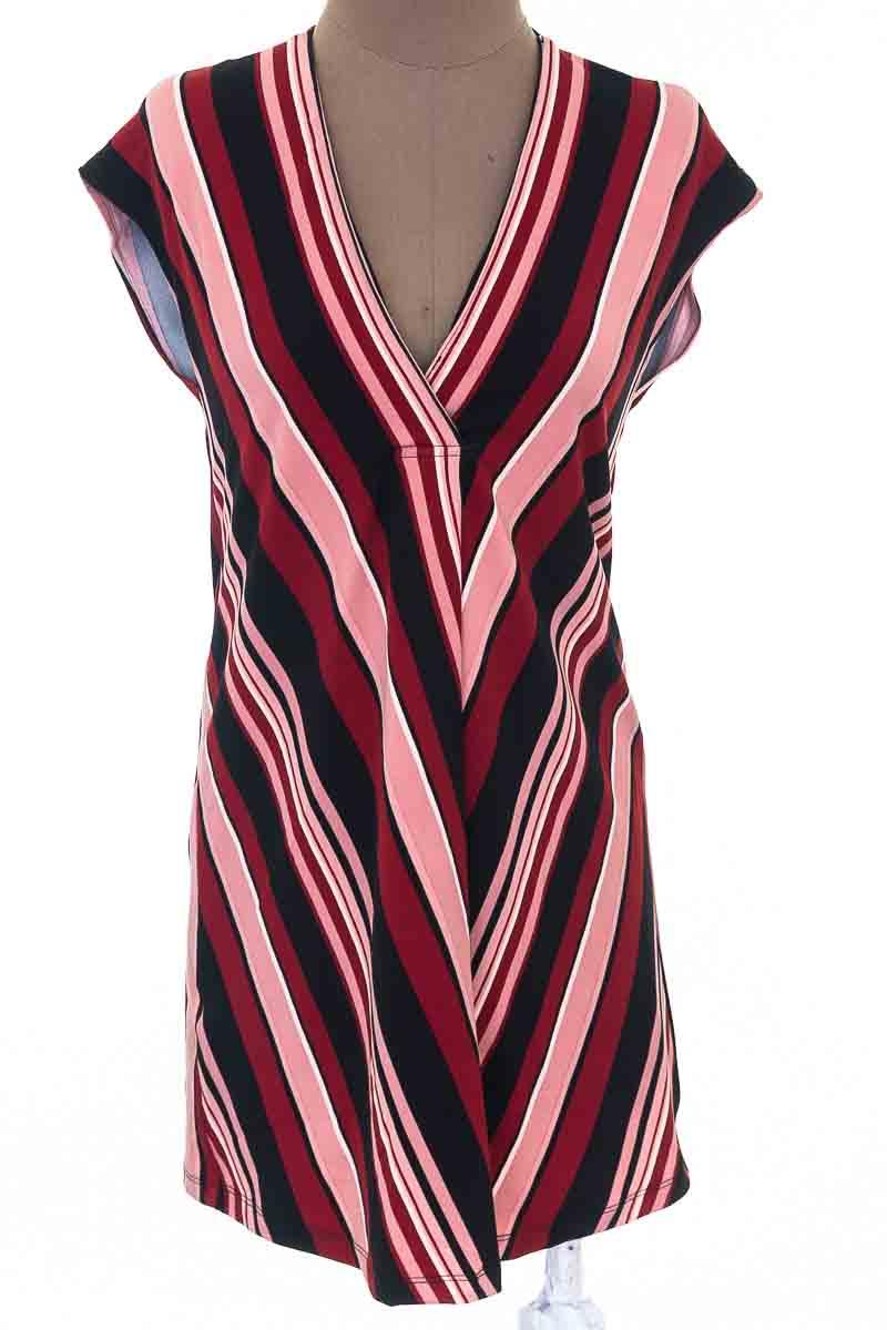 Vestido / Enterizo Casual color Vinotinto - MNG