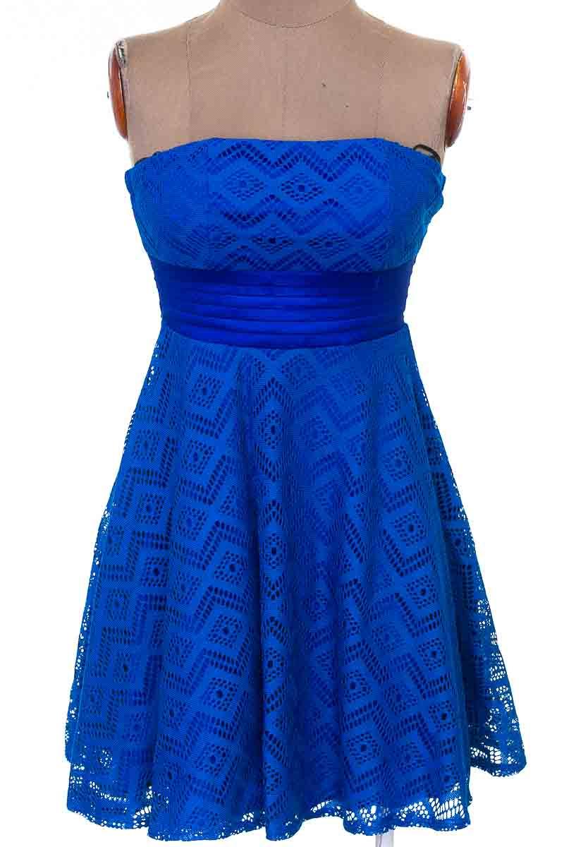 Vestido / Enterizo color Azul - Fe Usa