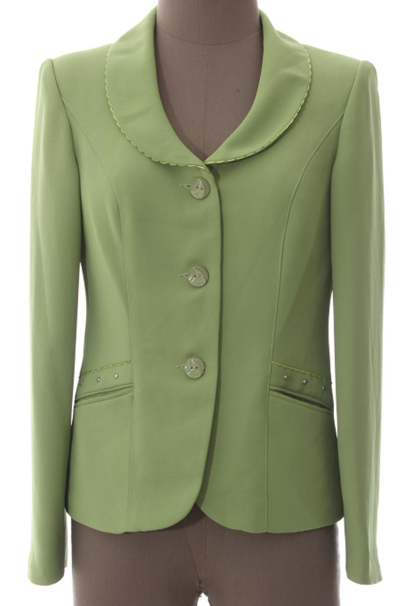 Chaqueta / Abrigo color Verde - Closeando