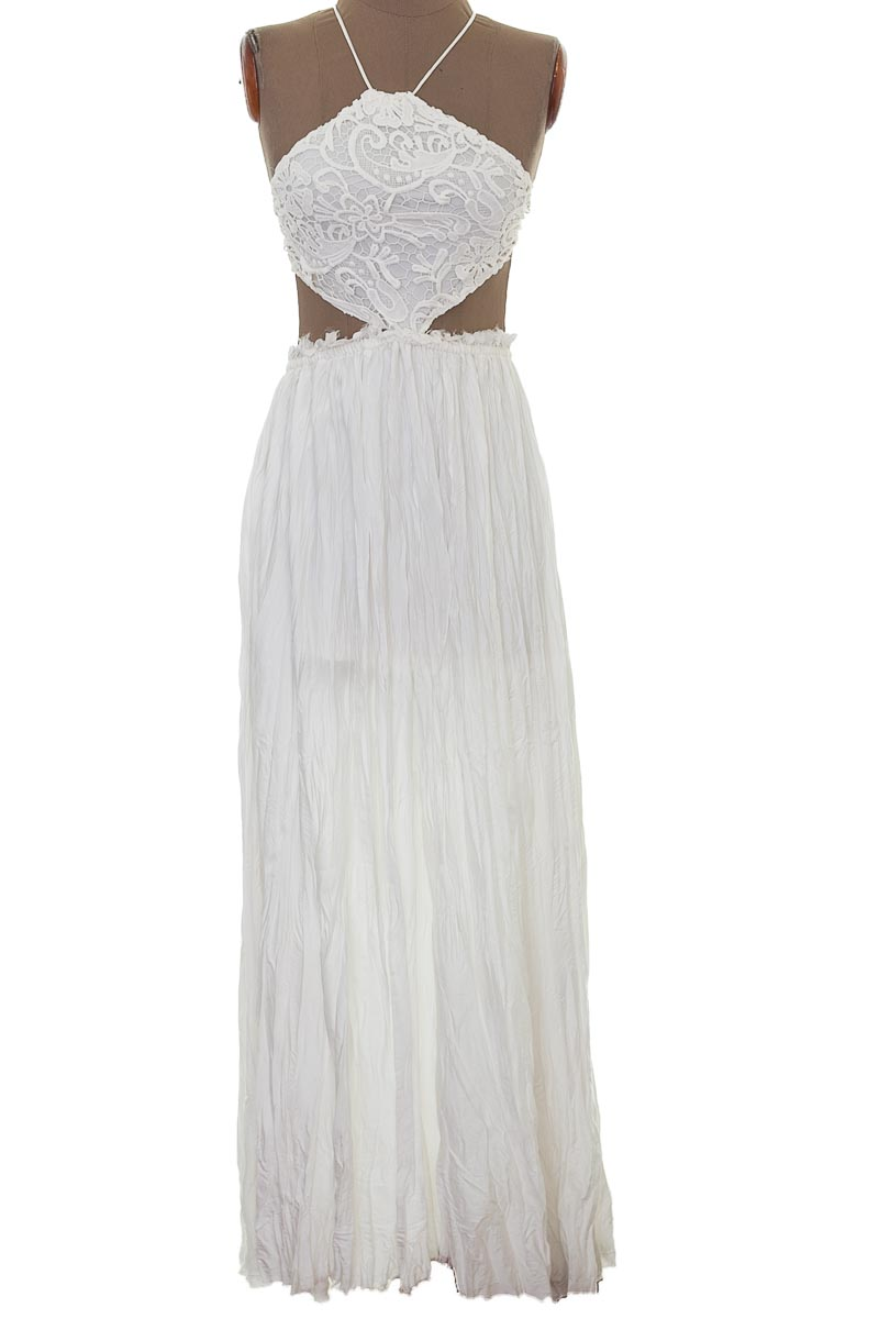 Vestido / Enterizo Fiesta color Blanco - Intrigue Couture