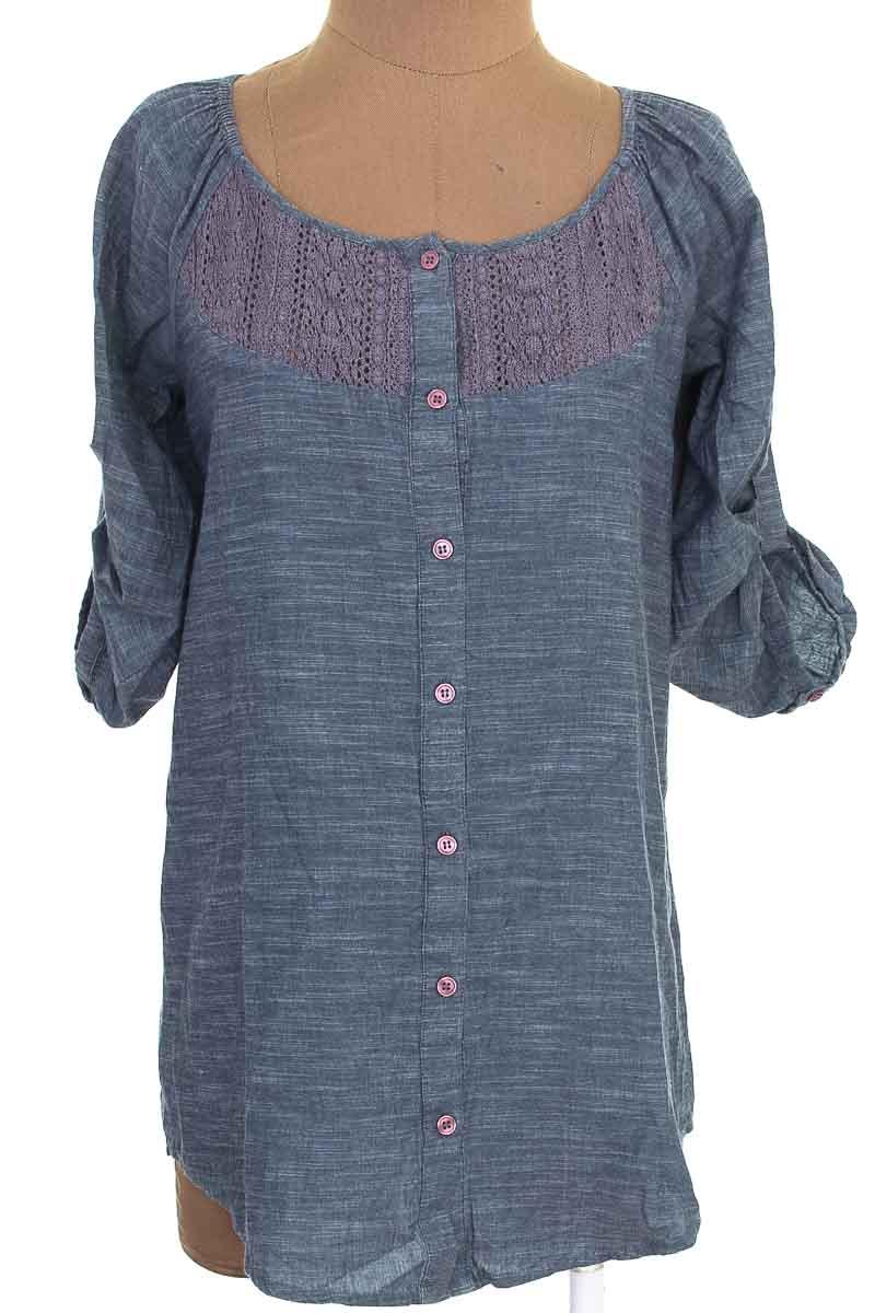 Blusa color Azul - VanHeusen