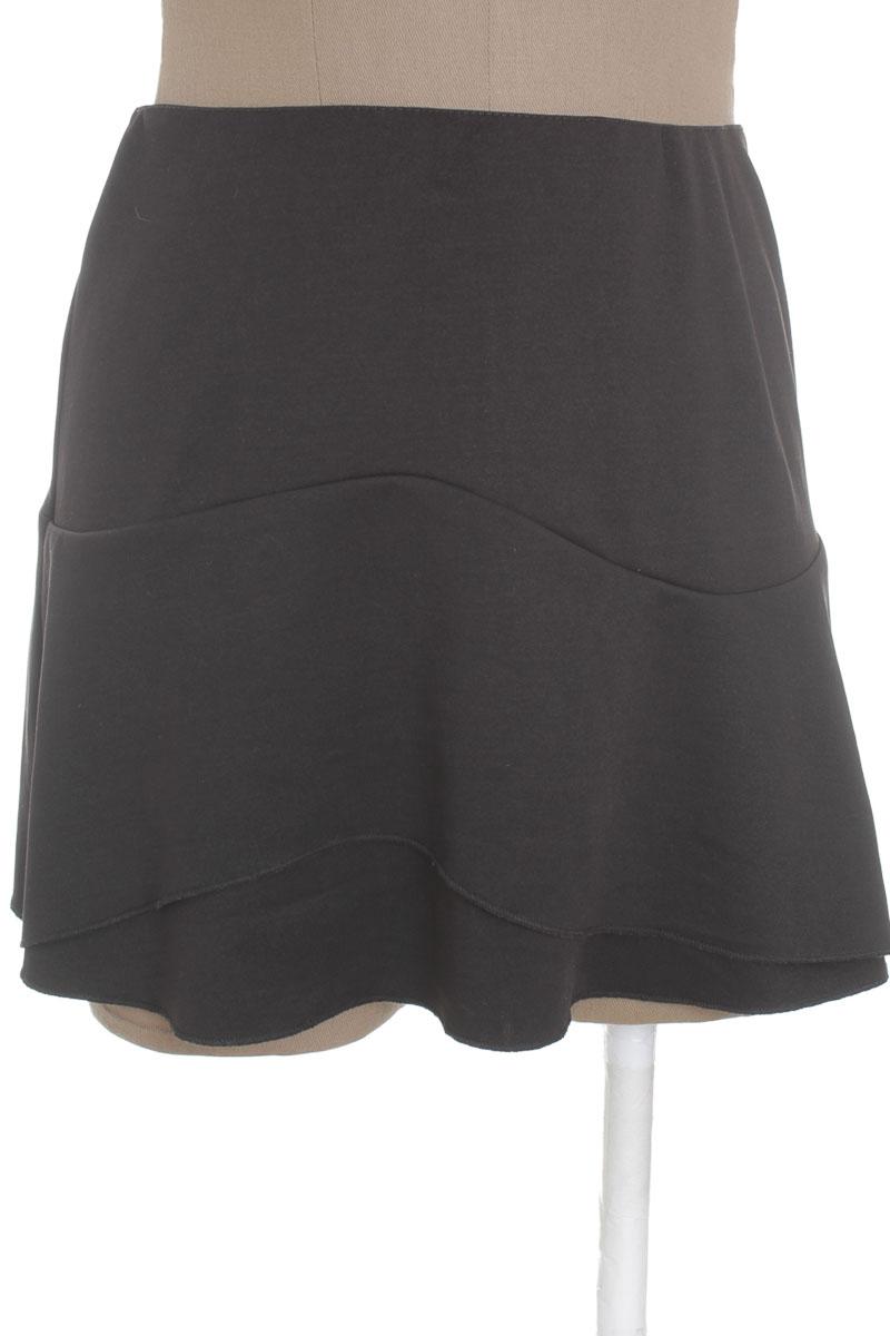 Falda Casual color Negro - ELA