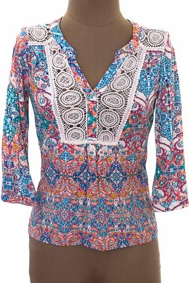 Blusa color Estampado - NAF NAF