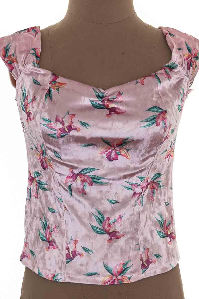 Top / Camiseta color Rosado - Koaj