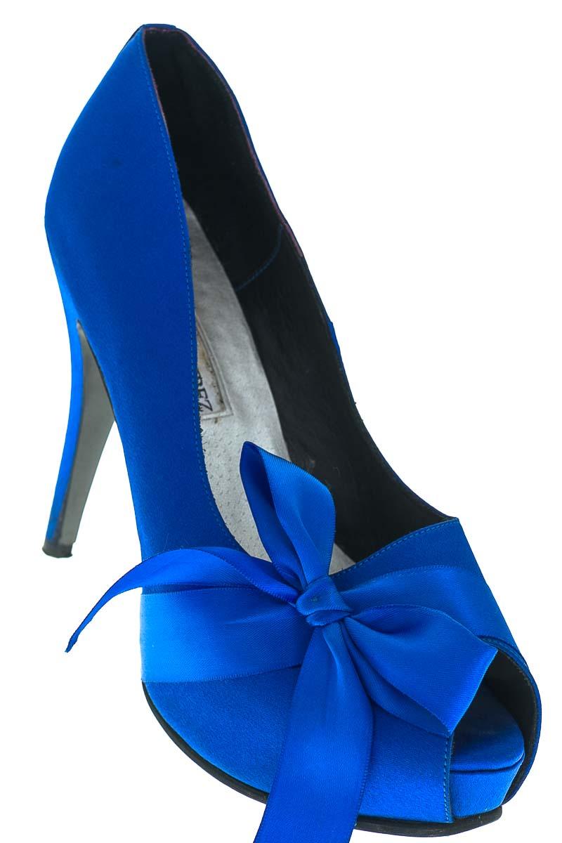 Zapatos color Azul - JORGE RAMIREZ