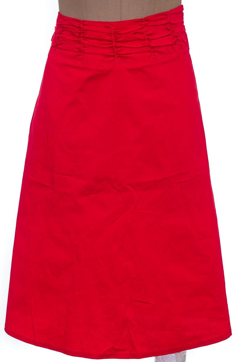 Falda Elegante color Rojo - Pinel