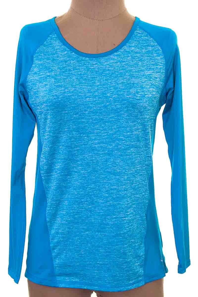 Ropa Deportiva / Salida de Baño Camiseta color Azul - Champion