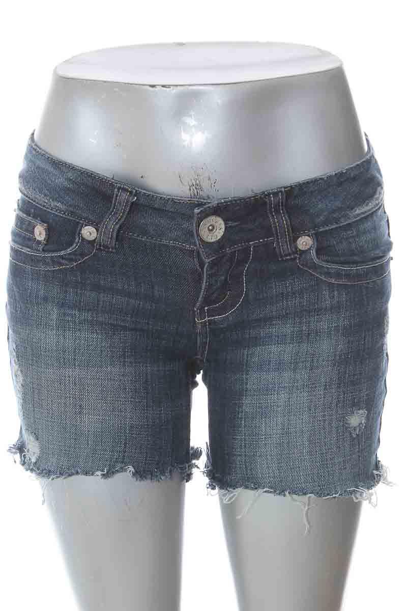 Short Jean color Azul - Guess