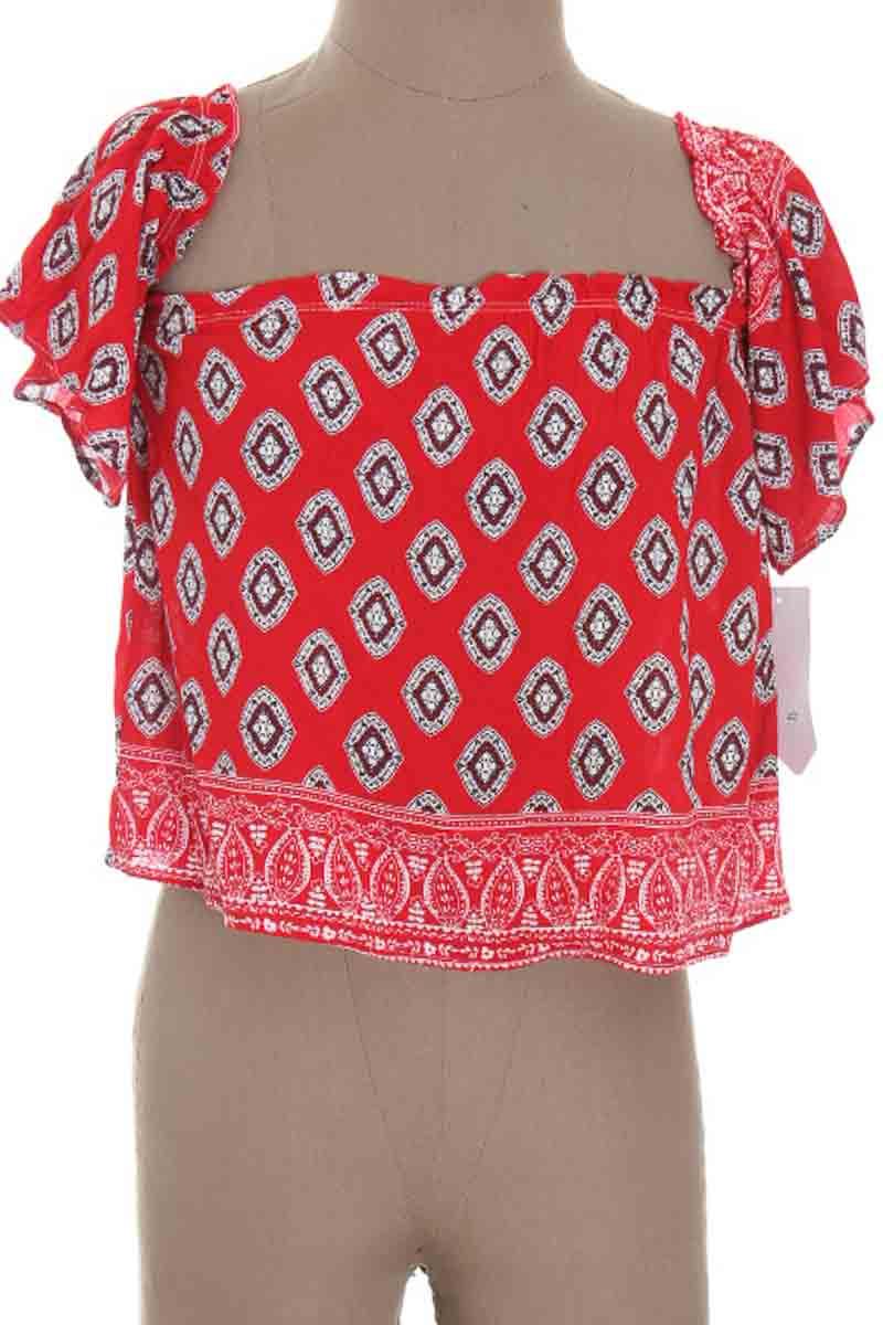 Top / Camiseta color Rojo - ELA