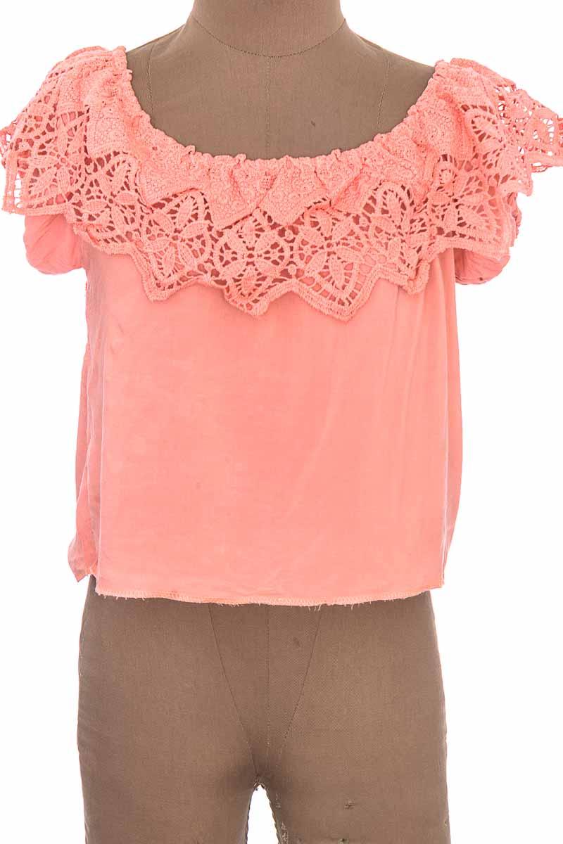 Top / Camiseta color Salmón - Closeando