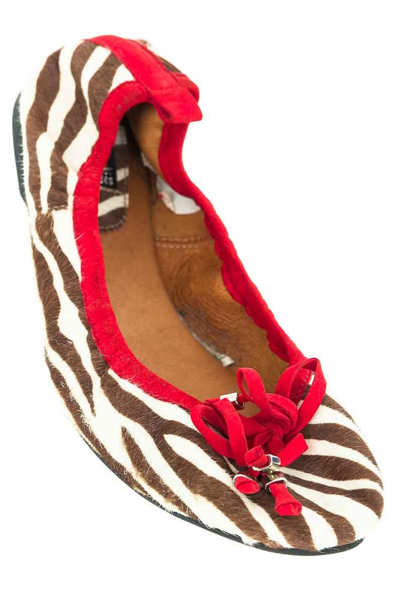 Zapatos Baleta color Café - Oq Shoes
