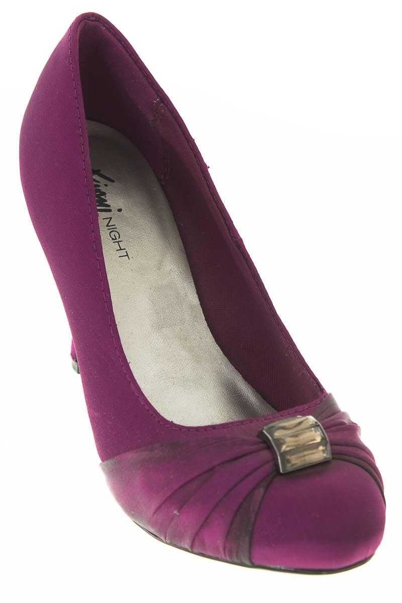 Zapatos Tacón color Morado - Fioni