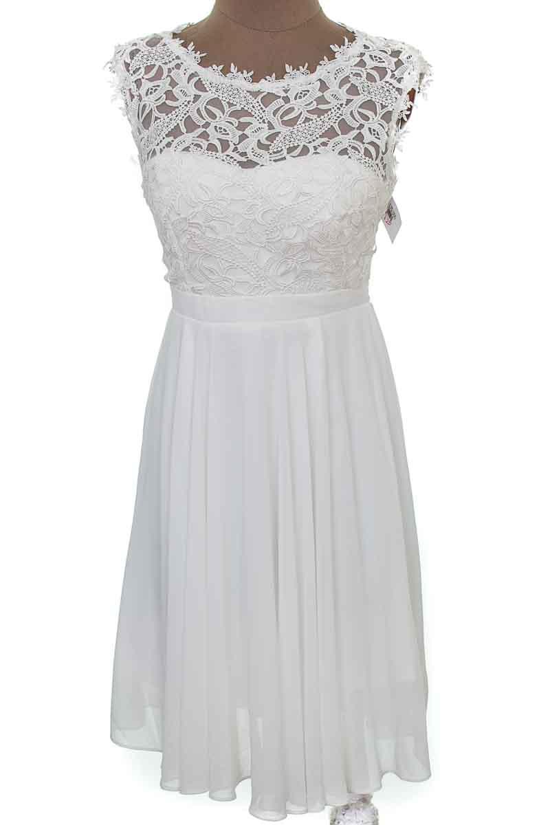Vestido / Enterizo color Blanco - Eva E Lola