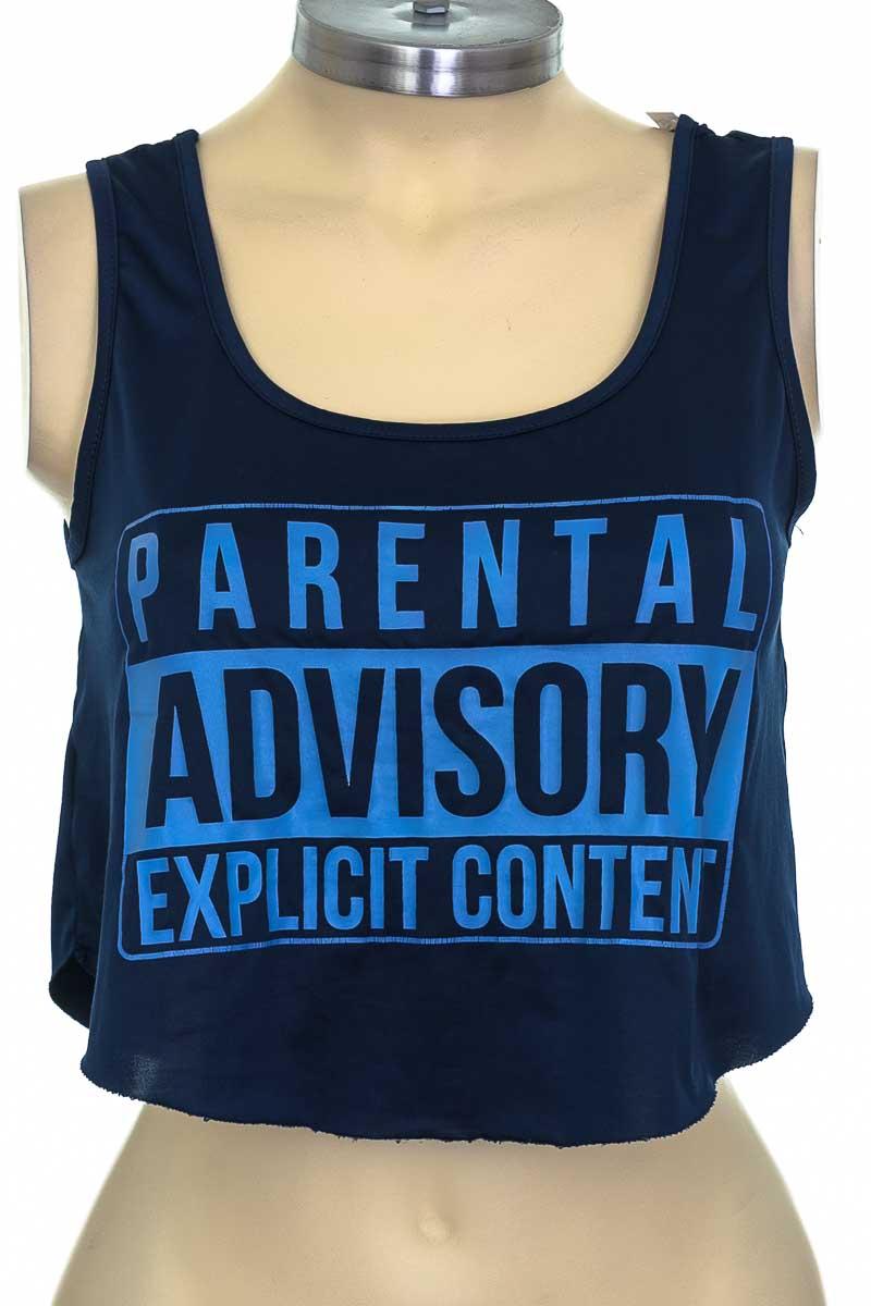 Top / Camiseta color Azul - Seventeen