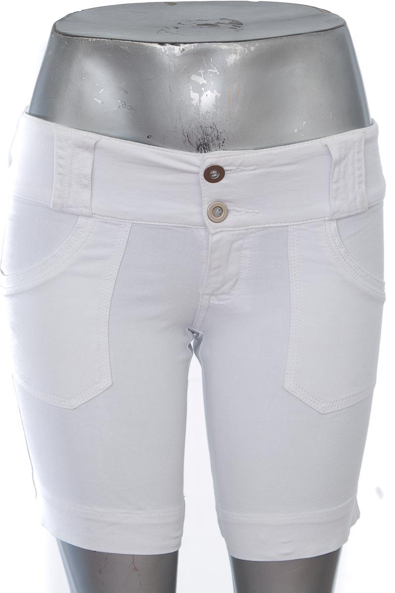 Short Jean color Blanco - Croquet