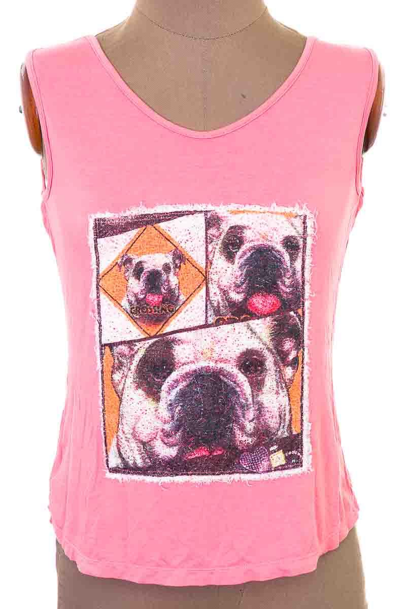 Top / Camiseta color Salmón - Diane