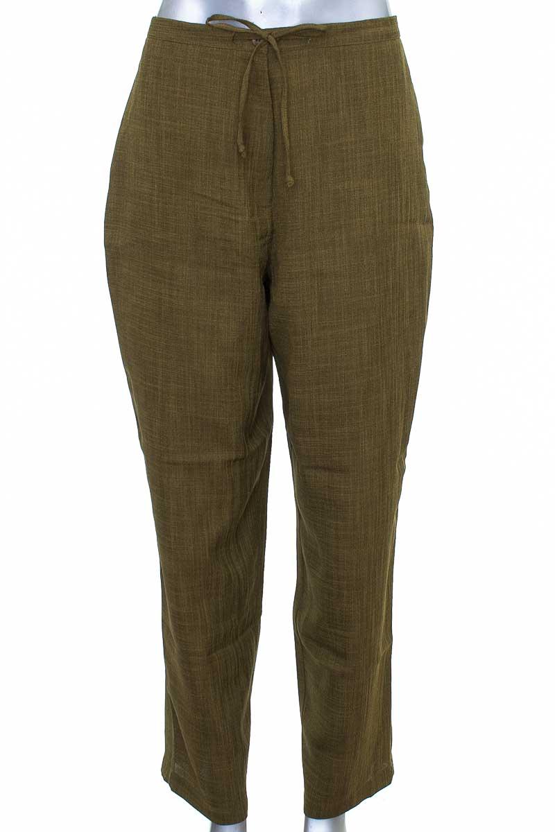 Pantalón color Verde - SAG HARBOR