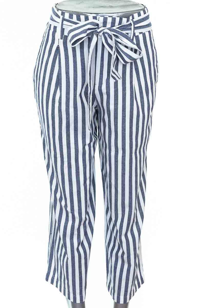 Pantalón Casual color Azul - Zara