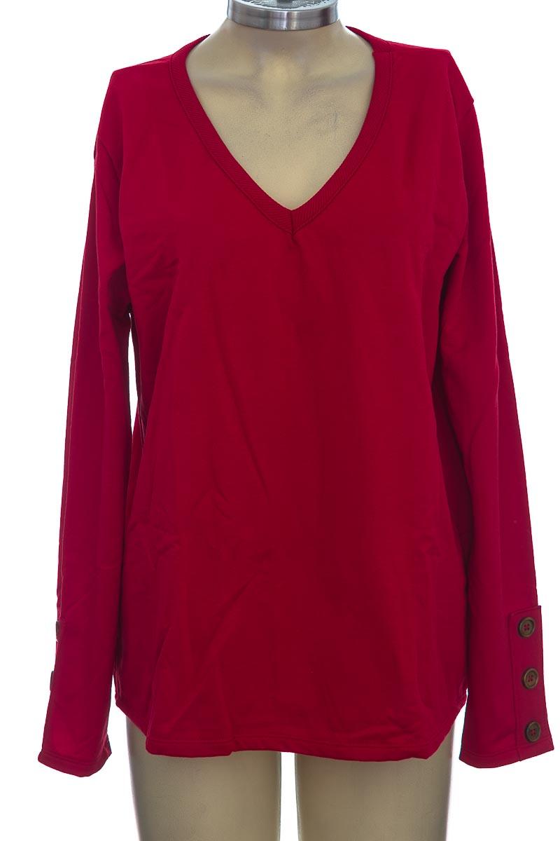 Sweater color Rojo - Pacífika