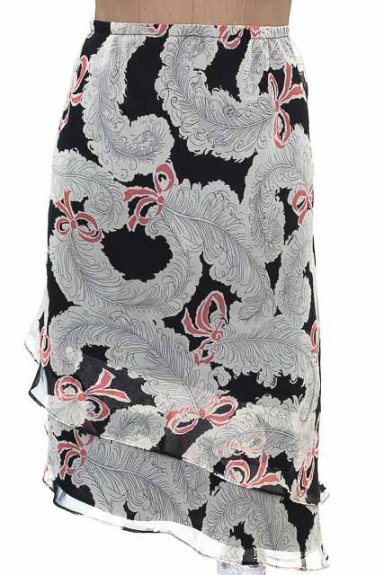 Falda Casual color Negro - VIRGO