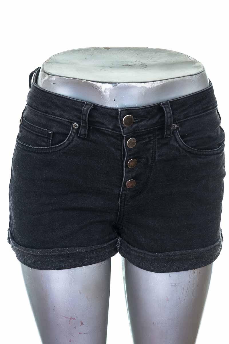 Short Jean color Negro - NAF NAF