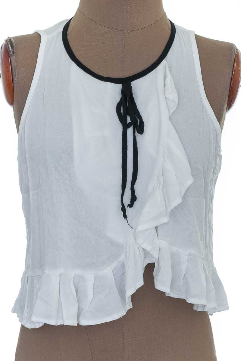 Blusa color Blanco - Quruba
