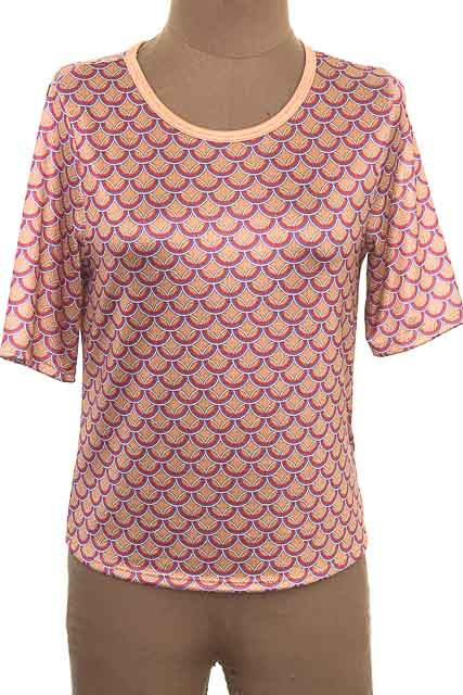 Top / Camiseta color Café - Koaj