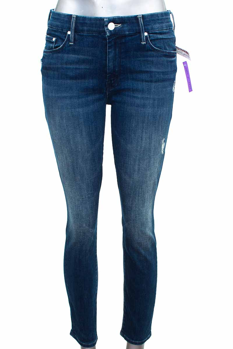 Pantalón Jeans color Azul - Mother
