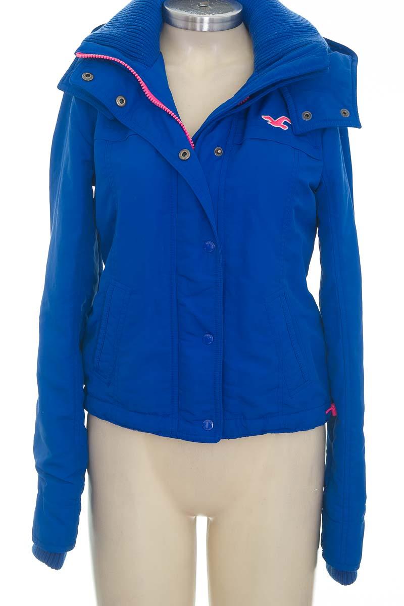 Chaqueta / Abrigo color Azul - Hollister