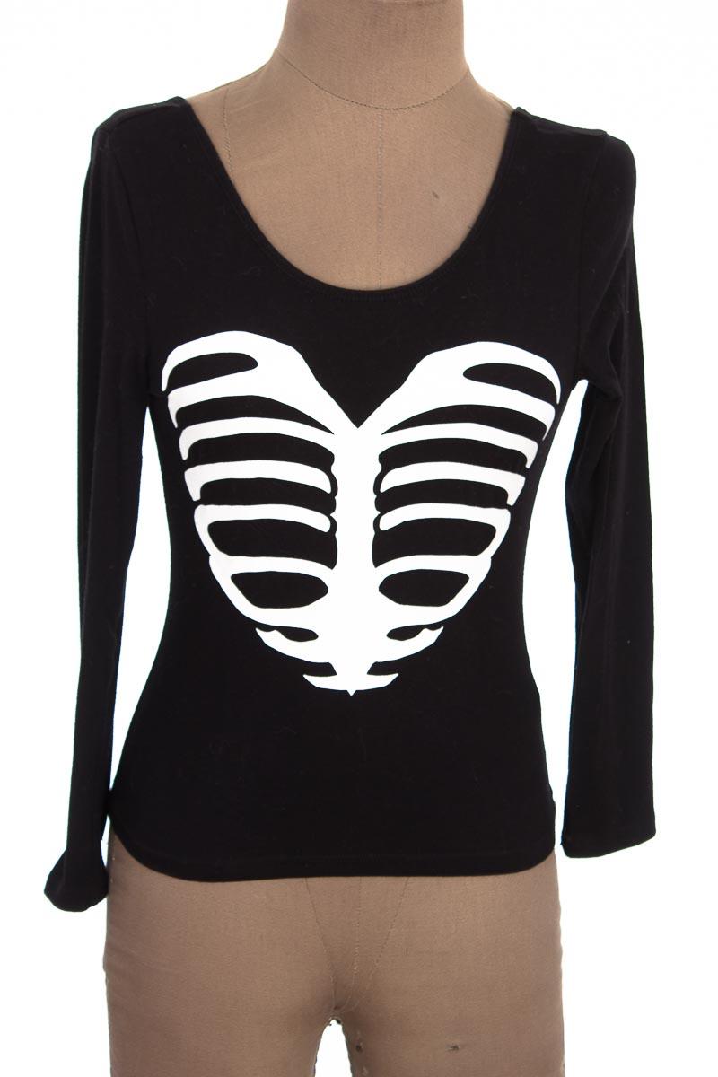 Top / Camiseta color Negro - H&M