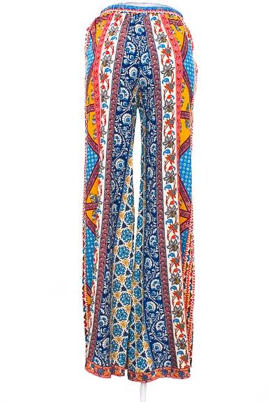 Pantalón Casual color Estampado - Flying Tomato