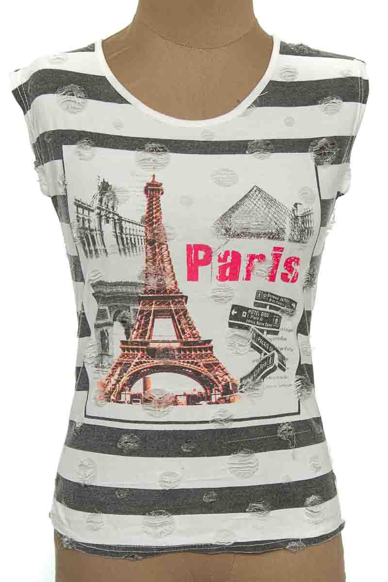 Top / Camiseta color Blanco - Jas Mine