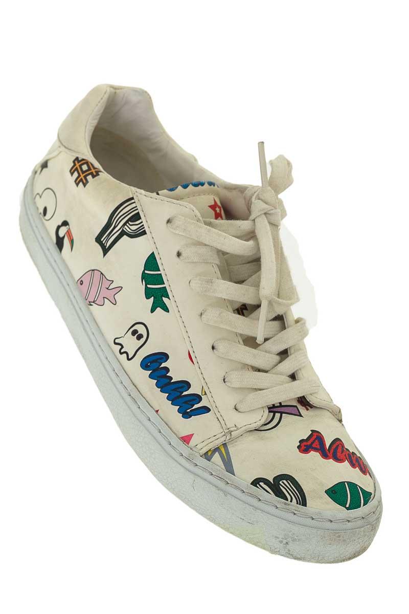 Zapatos color Blanco - Zara