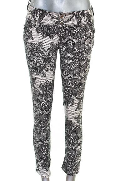 Pantalón color Negro - Silvia Tcherassi