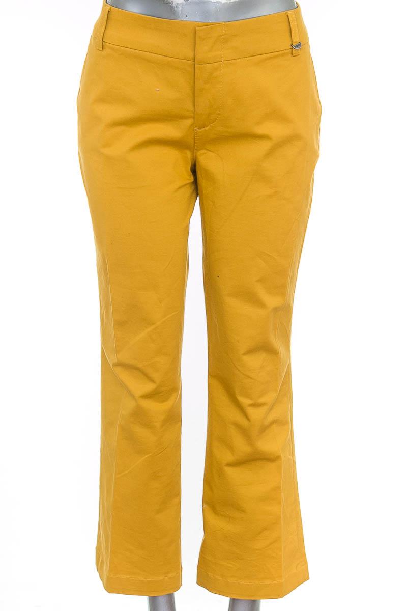 Pantalón color Amarillo - Esprit
