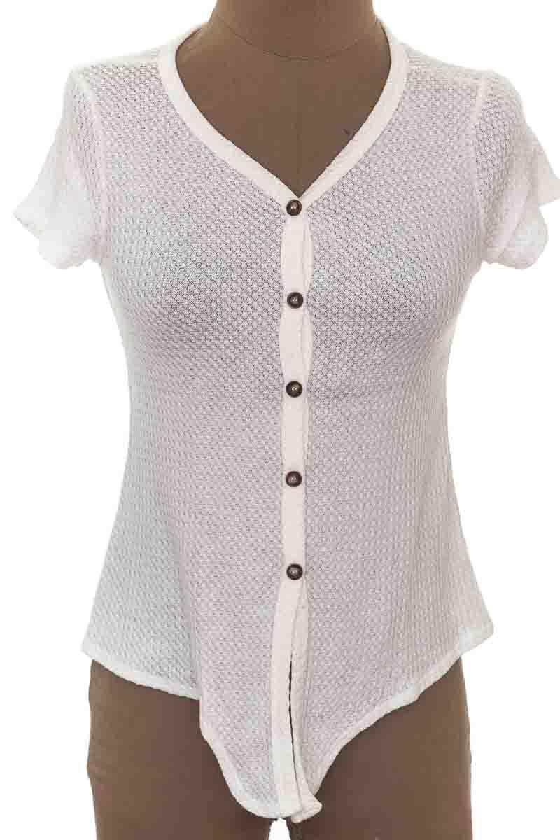 Top / Camiseta color Blanco - White Fawn