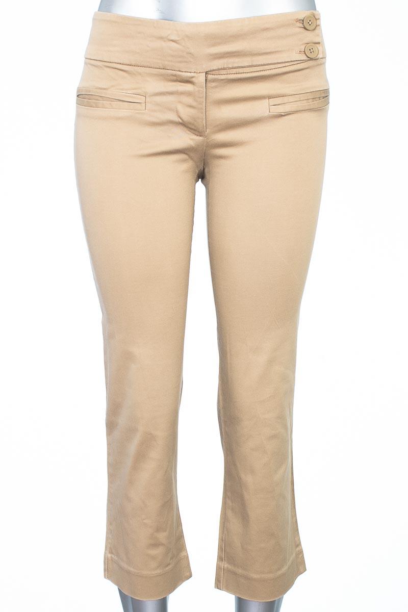 Pantalón Casual color Beige - Zara
