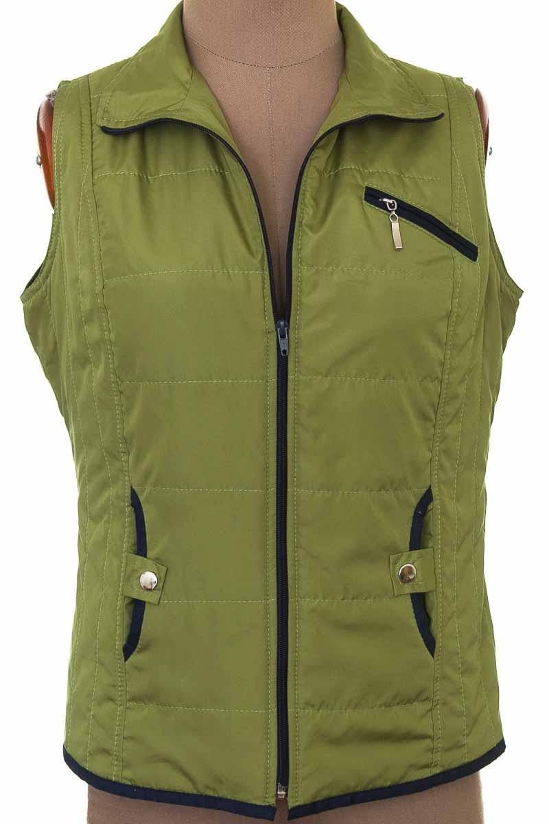 Chaqueta / Abrigo color Verde - Dismar