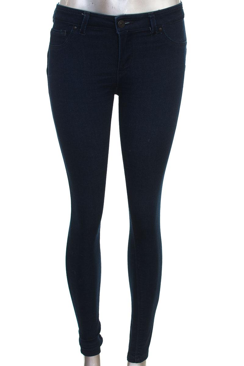 Pantalón color Azul - Bershka