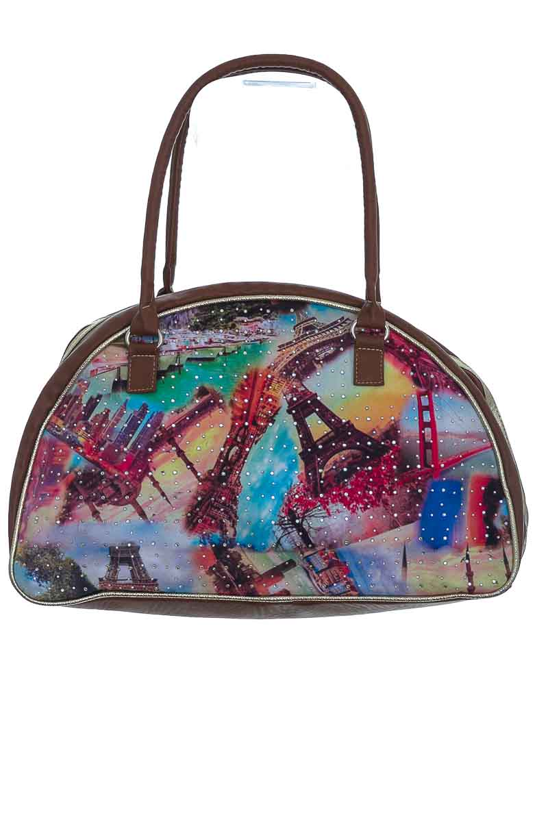 Cartera / Bolso / Monedero color Café - Navajo´s