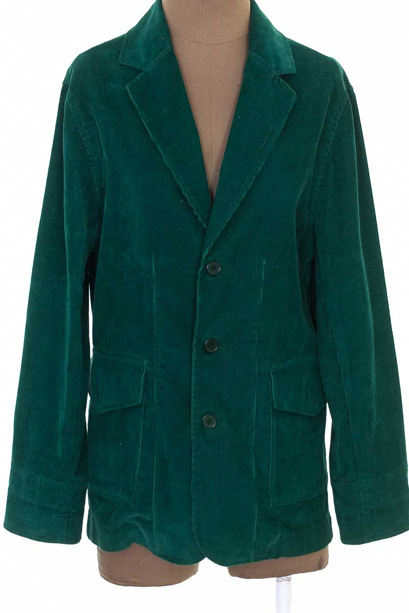 Chaqueta / Abrigo color Verde - Zephir