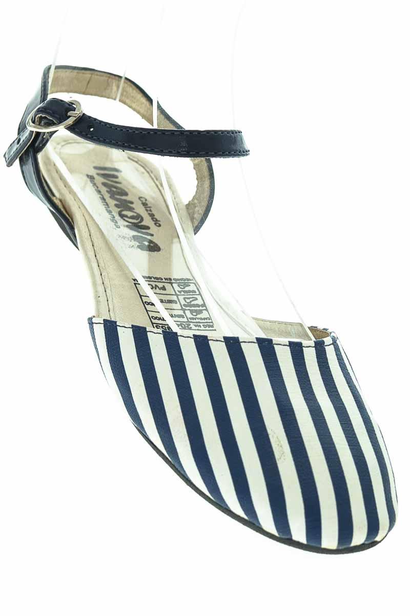 Zapatos color Azul - Ivanova