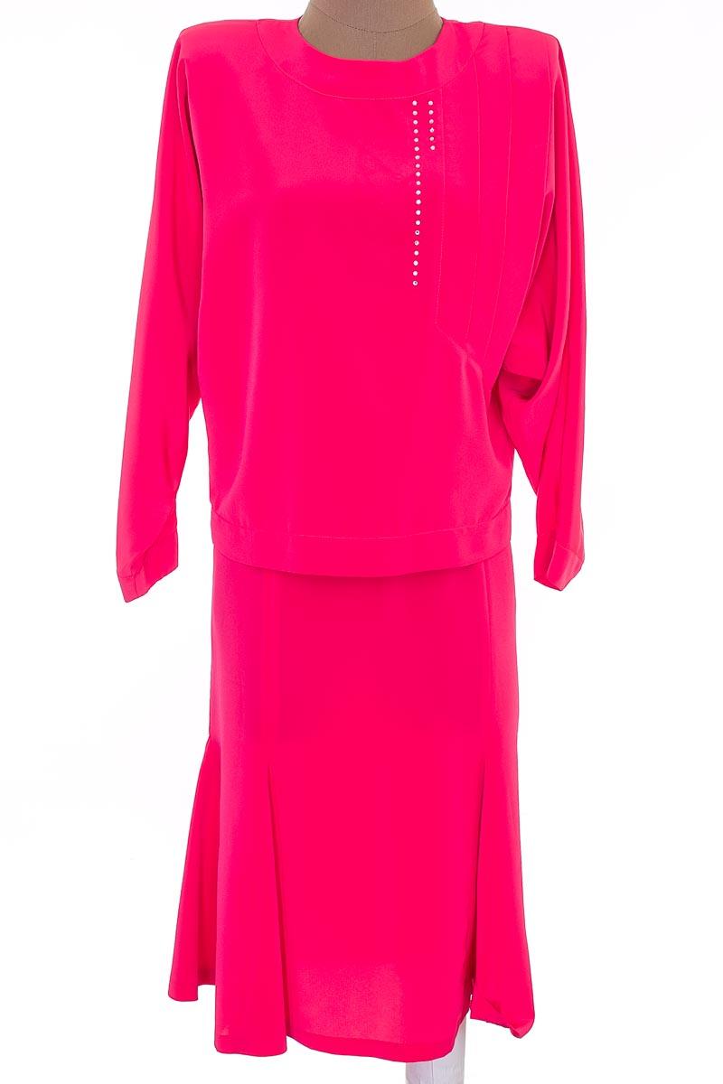 Vestido / Enterizo Casual color Fucsia - Jushi